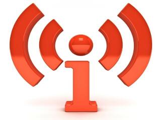 カナダでインターネットの無料電波が飛んでいる様子