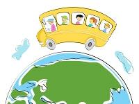 世界中の留学生が語学学校にいるイメージ