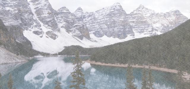 カナダの山々