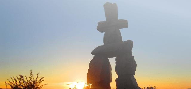 カナダ・バンクーバーの象徴モニュメント
