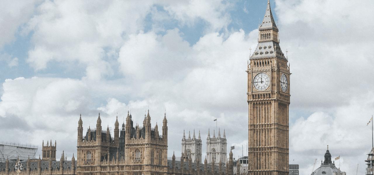 イギリスの時計台