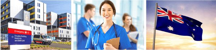 病院・海外で働く看護師・オーストラリア国旗