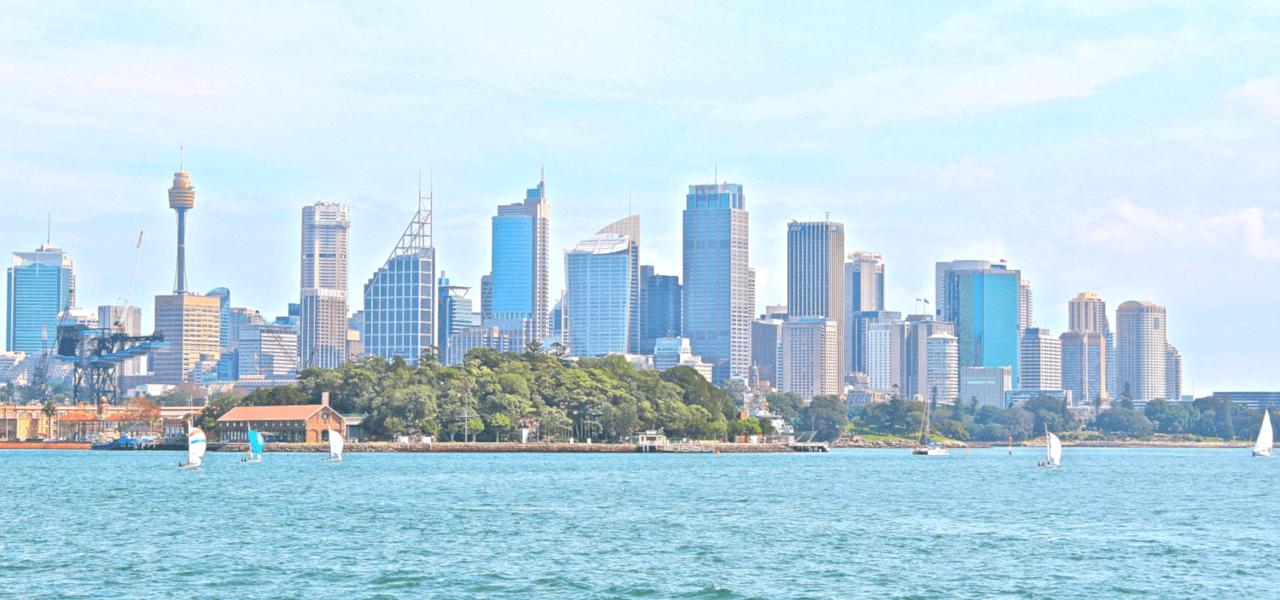 美しいシドニーの海