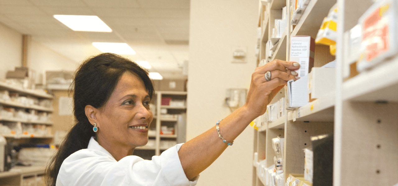 薬剤師の女性