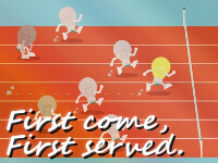留学後の仕事探しは「First come, first served.」