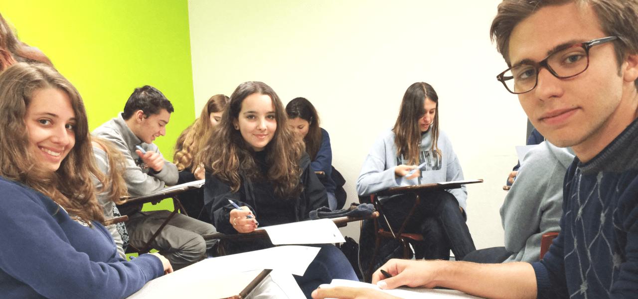 ラ・リングアの授業風景