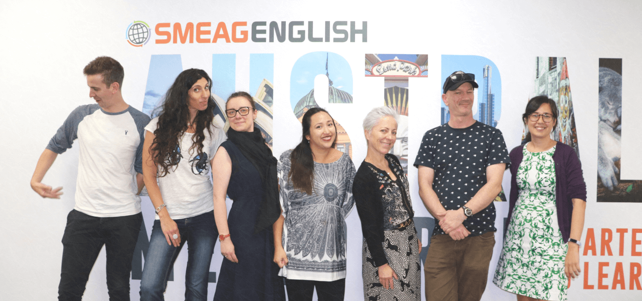 SMEAG ENGLISHメルボルン校スタッフのイメージ