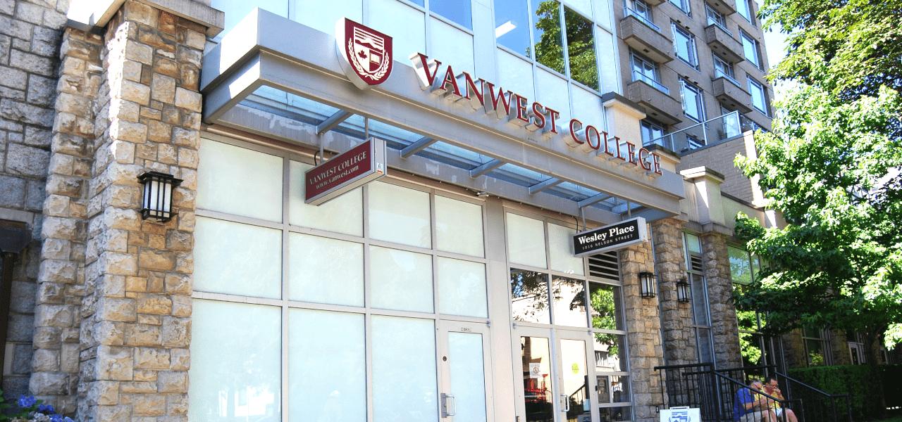 VANWEST COLLEGEバンクーバー校の校舎