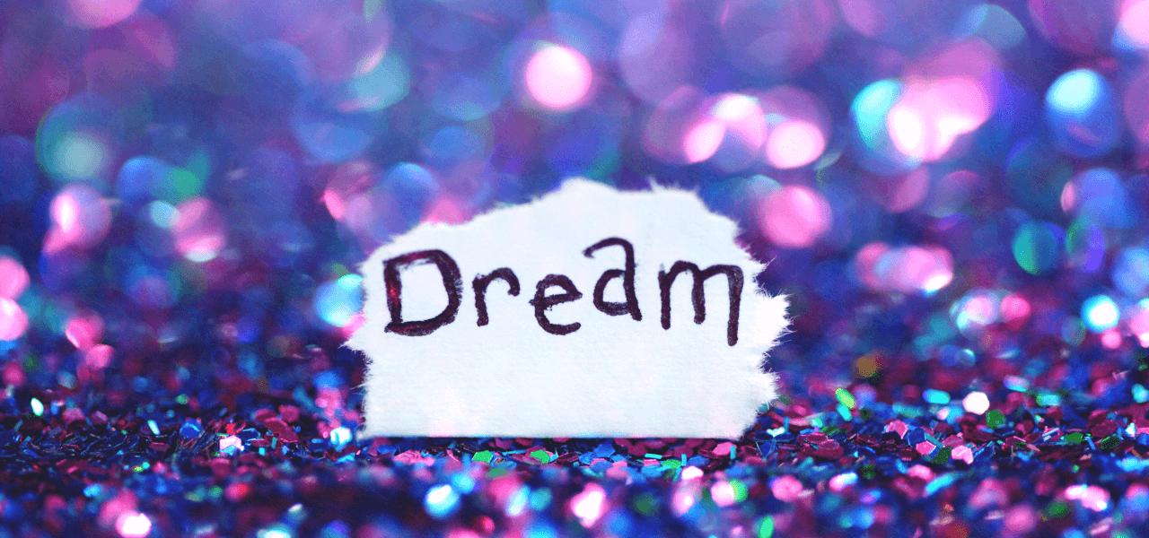 Dreamと書かれた紙