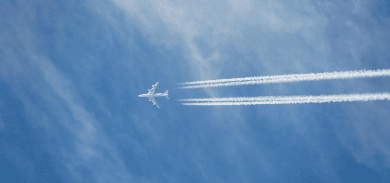 留学に行くための飛行機