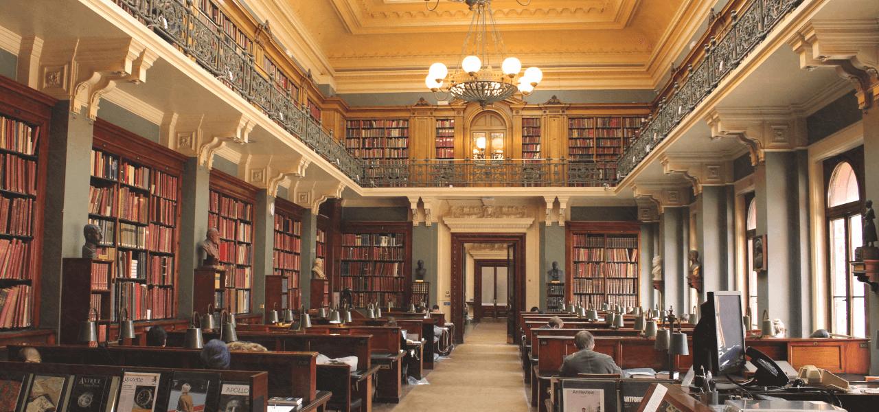 海外大学の図書館