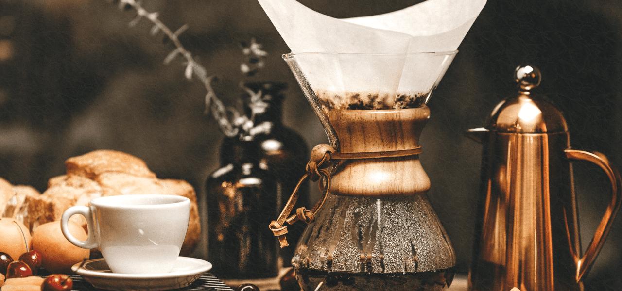 本格的なコーヒーを作る道具