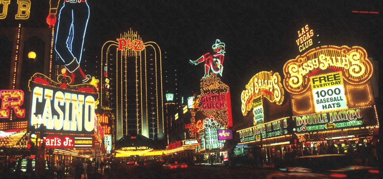 ラスベガスのカジノの街並み