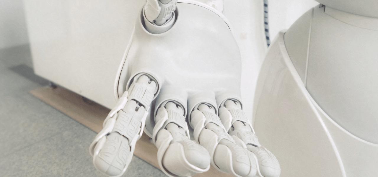 ロボットの右手