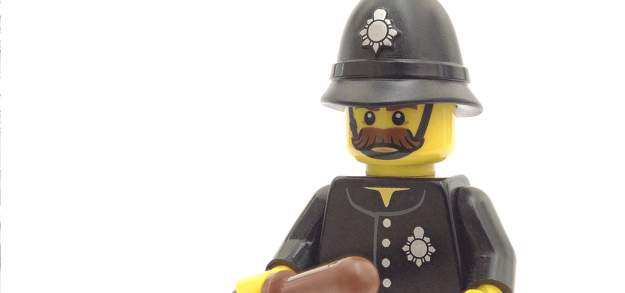 レゴの看守さん