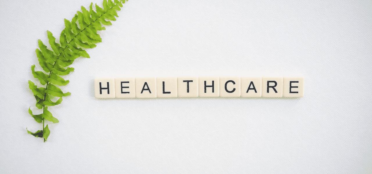Healthcareと書かれたサイコロ