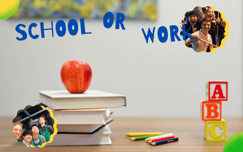 学校での学びと市場での学びの違いとは?のイメージ