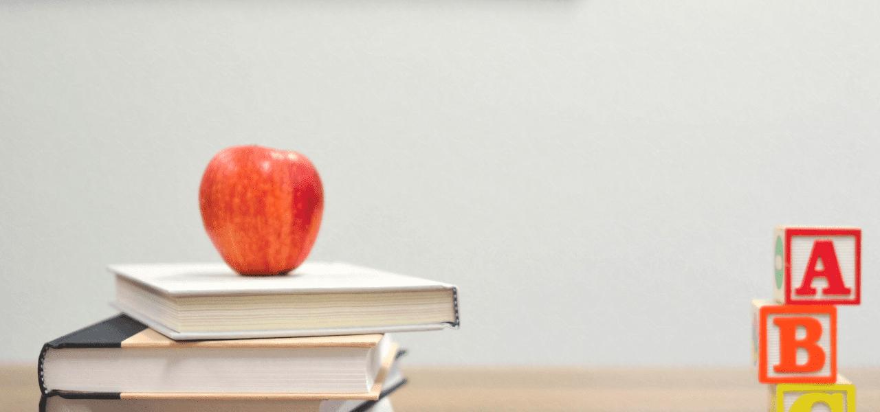りんごと教科書