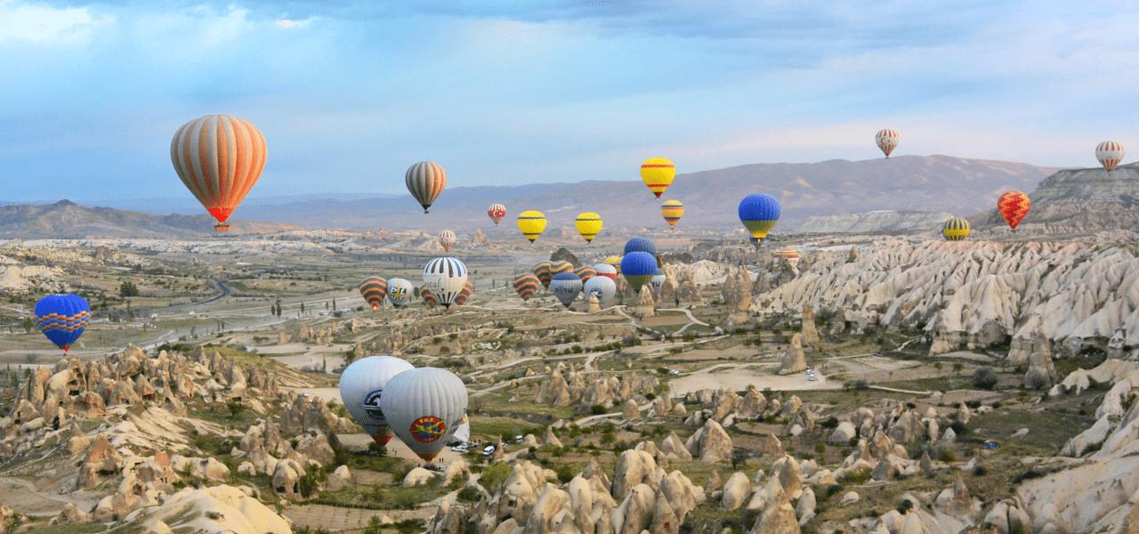 世界中の気球に夢をのせて