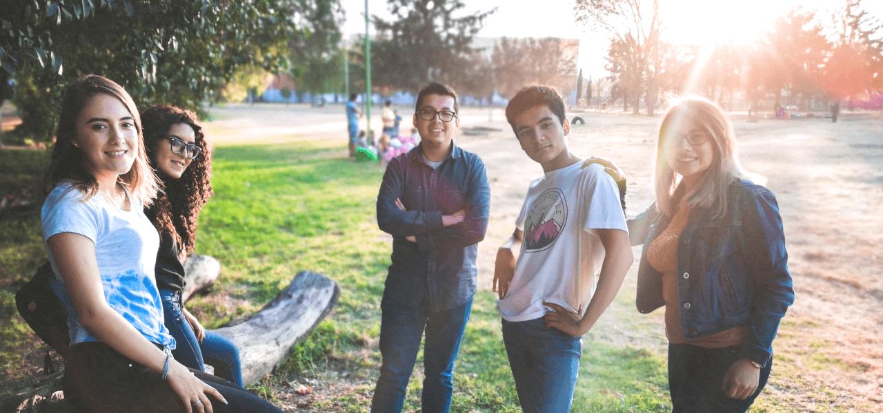 留学先の仲間たち