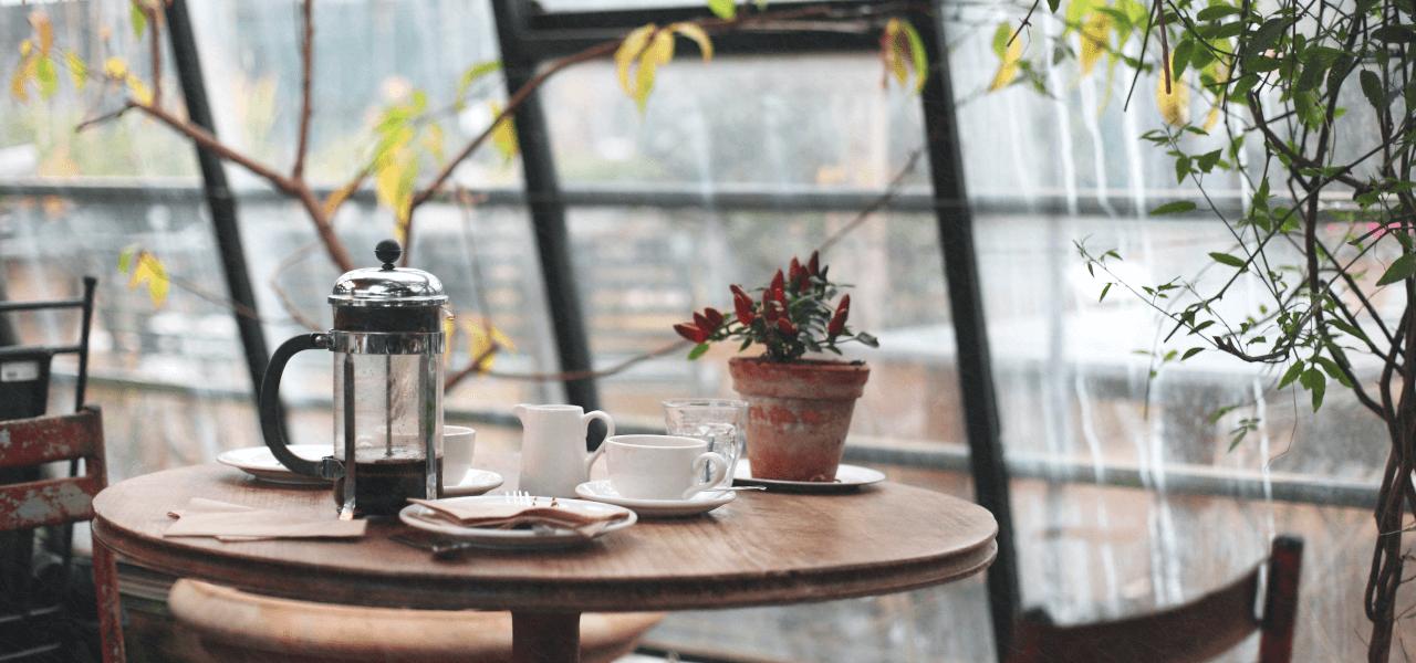 海外のカフェテリア