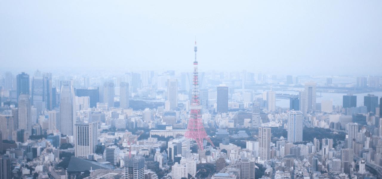 日本の東京での就職活動のイメージ