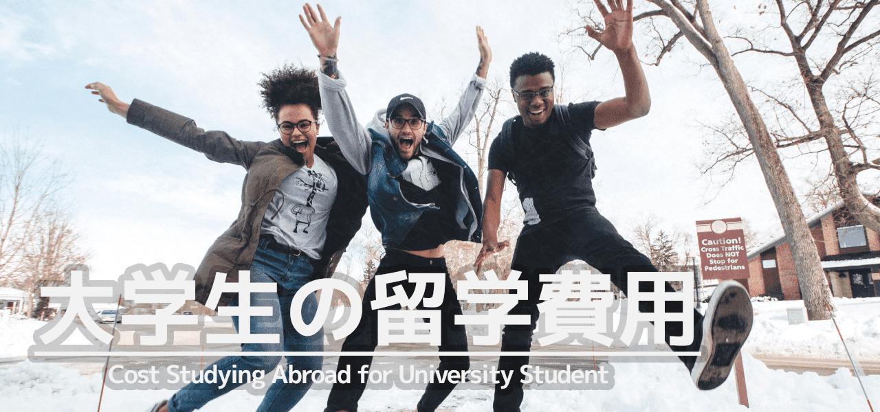 大学生の留学費用