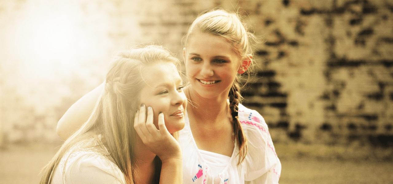 将来を考える女の子二人