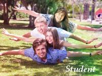 学生ビザを使いカナダで語学学習を行う様子