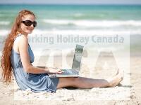 ワーキングホリデービザで休暇をカナダで過ごす様子