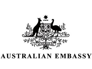 オーストラリア大使館のロゴ