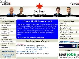 ワーキングホリデー時にカナダで仕事を探せるサイト